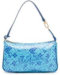 Louis Vuitton 2010 プレオウンド Cosmic Blossom ハンドバッグ - ブルー