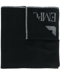 EA7 ロゴ スカーフ - ブラック