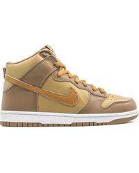 Nike Dunk High Sneakers - Brown