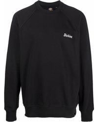 Dickies Construct Sweatshirt mit Logo-Print - Schwarz