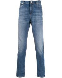 Brunello Cucinelli ストレートジーンズ - ブルー