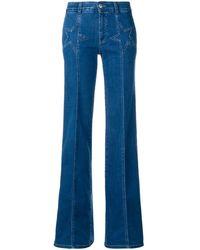 Stella McCartney スター フレア ジーンズ - ブルー