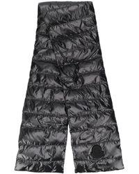 Moncler パデッド スカーフ - ブラック
