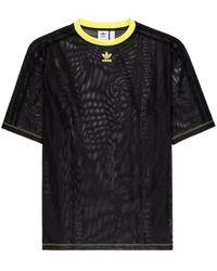 adidas Camiseta de malla de x Fiorucci - Negro