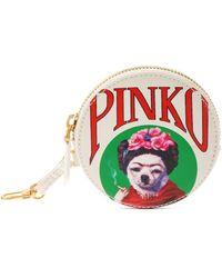 Pinko Smoking Dog 財布 - ホワイト