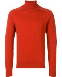 AMI Turtleneck Sweater - オレンジ