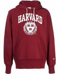 Champion Harvard パーカー - レッド