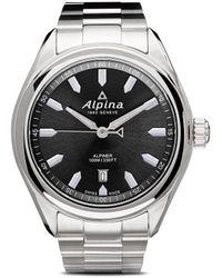 Alpina Наручные Часы Alpiner Quartz 42 Мм - Серый