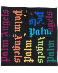 Palm Angels Шарф С Логотипом - Черный