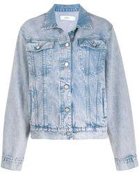 Closed Oversized Denim Jacket - Blue