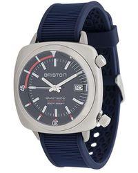 Briston 'Clubmaster' Armbanduhr - Blau