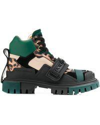 Dolce & Gabbana Трекинговые Ботинки С Логотипом - Черный