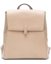 Valextra Iside Backpack - Natural