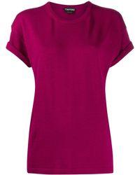 Tom Ford ニットスリーブ Tシャツ - マルチカラー