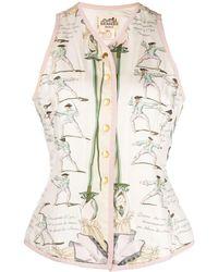 Hermès - Chaleco Traite des Armes pre-owned - Lyst