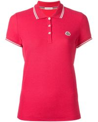 Moncler - Polo Tee - Lyst
