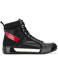 Calvin Klein Ботинки На Шнуровке - Черный