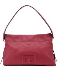 Givenchy Mittelgroße 'ID93' Schultertasche - Rot
