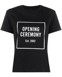 Opening Ceremony ロゴ Tシャツ - ブラック
