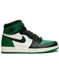 Nike Хайтопы 'air 1 Retro High Og' - Зеленый