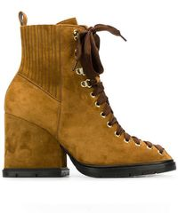 Santoni - Lace-up Boots - Lyst