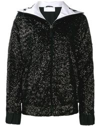 NO KA 'OI Sequined Track Jacket - Black