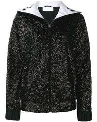 NO KA 'OI Sequined Track Jacket - Black
