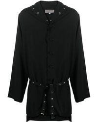 Yohji Yamamoto パデッドジャケット - ブラック