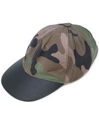 Valentino - Camouflage Baseball Cap - Lyst