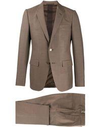 Ermenegildo Zegna ツーピース スーツ - ブラウン
