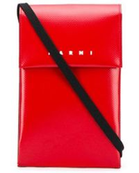 Marni - Клатч С Ланъярдом И Логотипом - Lyst