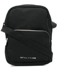 1017 ALYX 9SM Сумка-мессенджер С Логотипом - Черный