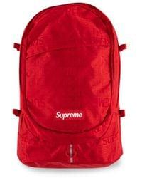 Supreme Ss19 Logo Backpack - Red