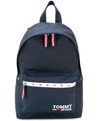 Tommy Hilfiger Rugzak Met Logo - Blauw