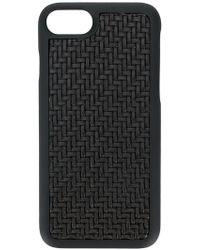 Ermenegildo Zegna Woven Iphone 7 Case - Black