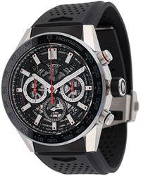 Tag Heuer Reloj Calibre Heuer 02 de 45mm - Negro