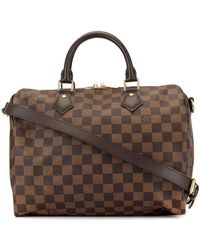 Louis Vuitton Pre-owned Speedy Holdall - Brown