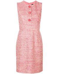 Paule Ka - Short Sleeveless Dress - Lyst