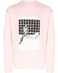 424 ロングtシャツ - ピンク