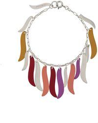 Isabel Marant Hanging Charm Bracelet - Yellow