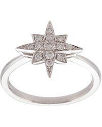 Marchesa - ダイヤモンド スター カフブレスレット 18kホワイトゴールド - Lyst