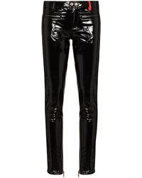 032c Pantaloni skinny Punk - Nero