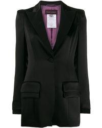 Talbot Runhof Single-breasted Blazer - Black