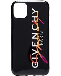 Givenchy Black sunset logo iPhone 11 Pro case - Schwarz