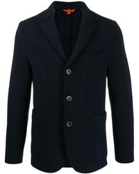 Barena シングルジャケット - ブルー