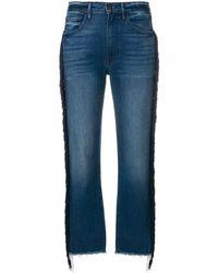 3x1 クロップドジーンズ - ブルー
