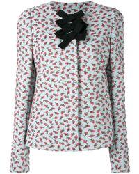 Rochas - Printed Slim Fit Jacket - Lyst