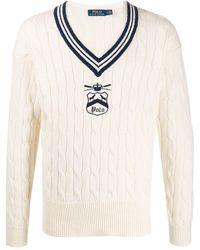 Polo Ralph Lauren Sweater In Universiteit-stijl - Meerkleurig
