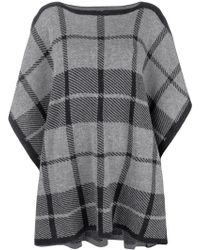 Woolrich - Checked Tabard Sweater - Lyst
