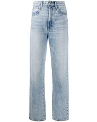 SLVRLAKE Denim Straight Jeans - Blauw